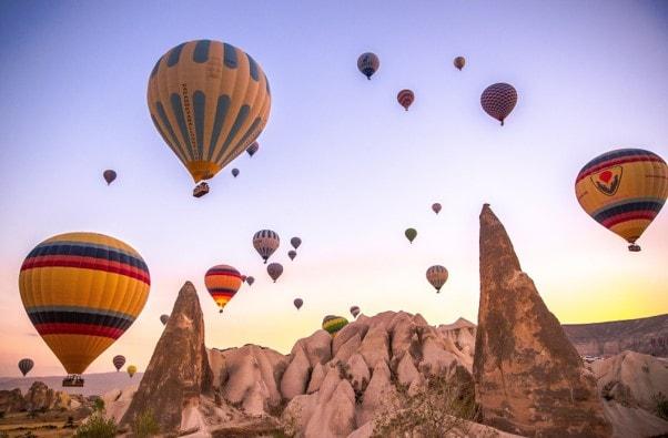 marriage proposal ideas in hot air balloon