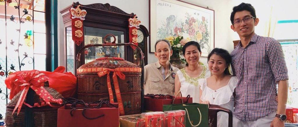 chinese wedding customs_the guo da li ceremony